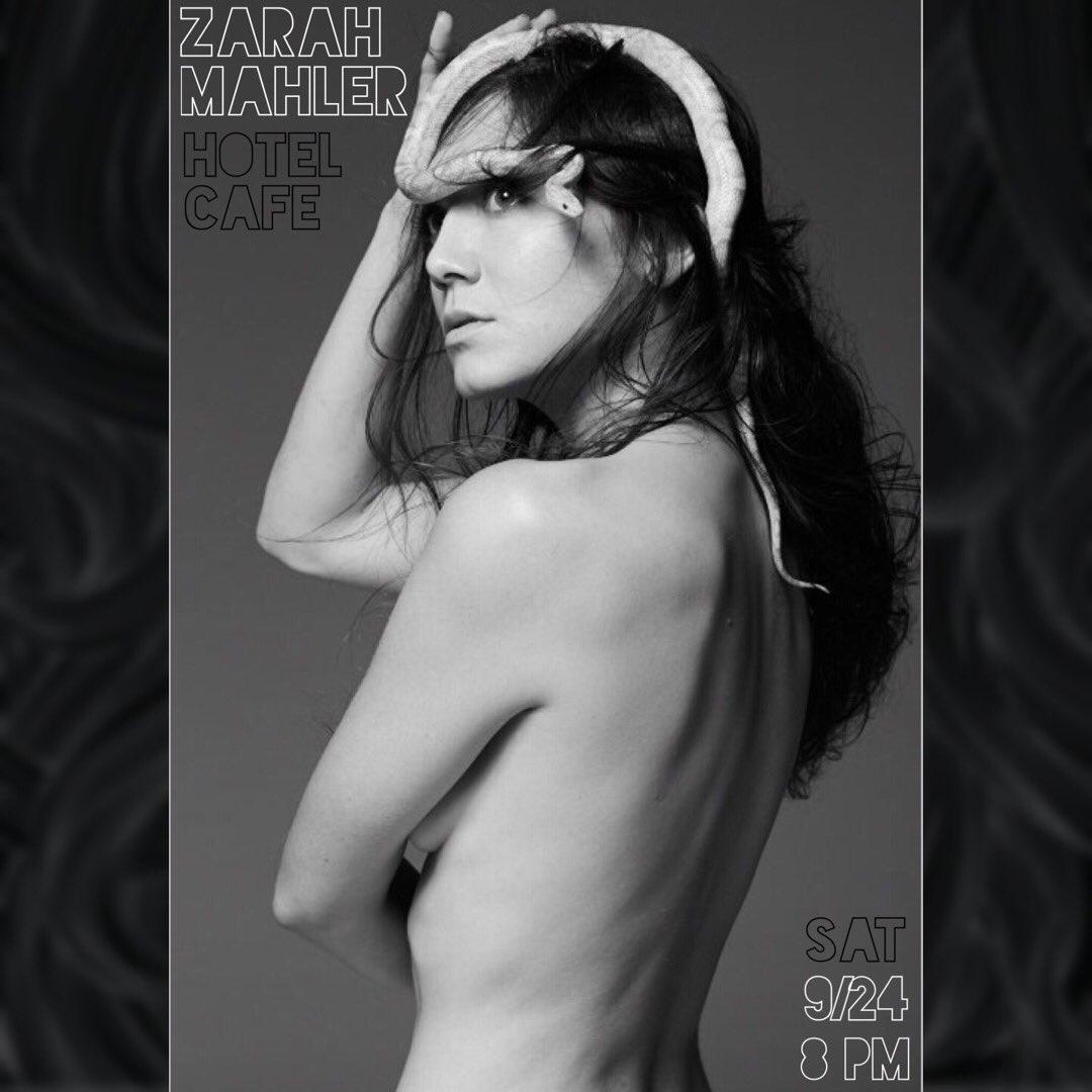 Zarah Mahler