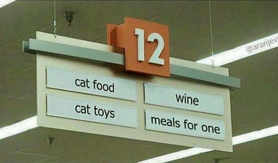 My Life summed up in one Aisle... https://t.co/Lw1OOzcUih