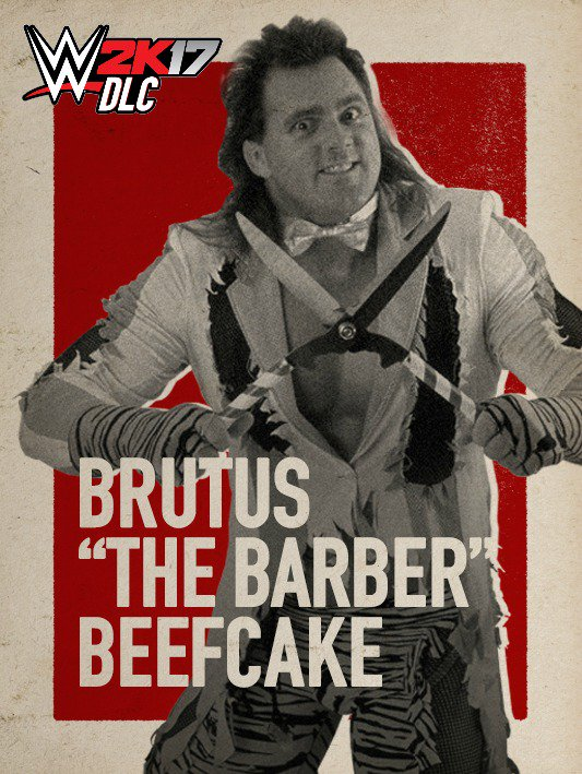WWE 2K17 DLC Brutus Barber Beefcake