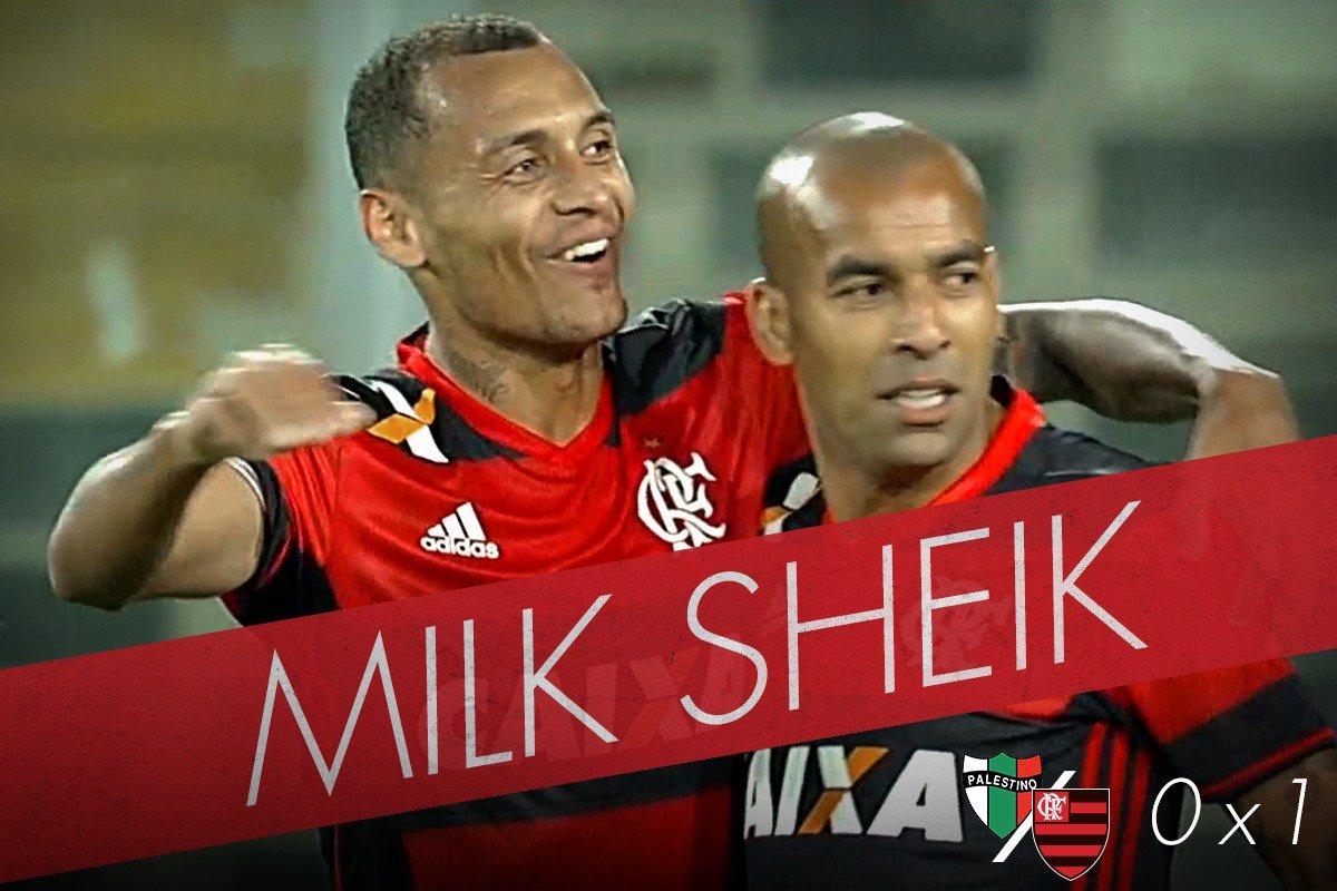No segundo tempo, o Zé mudou a fórmula, Emerson marcou e deu Mengão! #MilkSheik