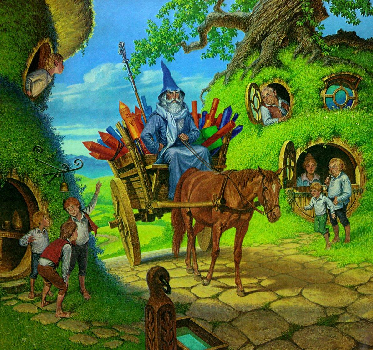 Artwork inspired by Tolkien - Page 25 Cs7ugwJUkAA0j4q