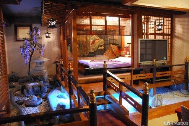 Japanese love hotel themes