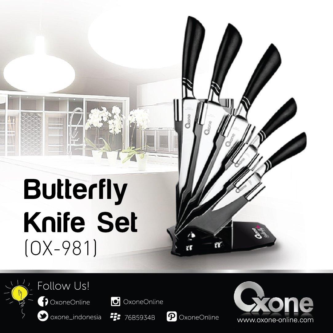 Oxone Butterfly Knife Set Ox 981 Daftar Harga Terlengkap Indonesia 5pcs 1000 Pm 25 Sep 2016