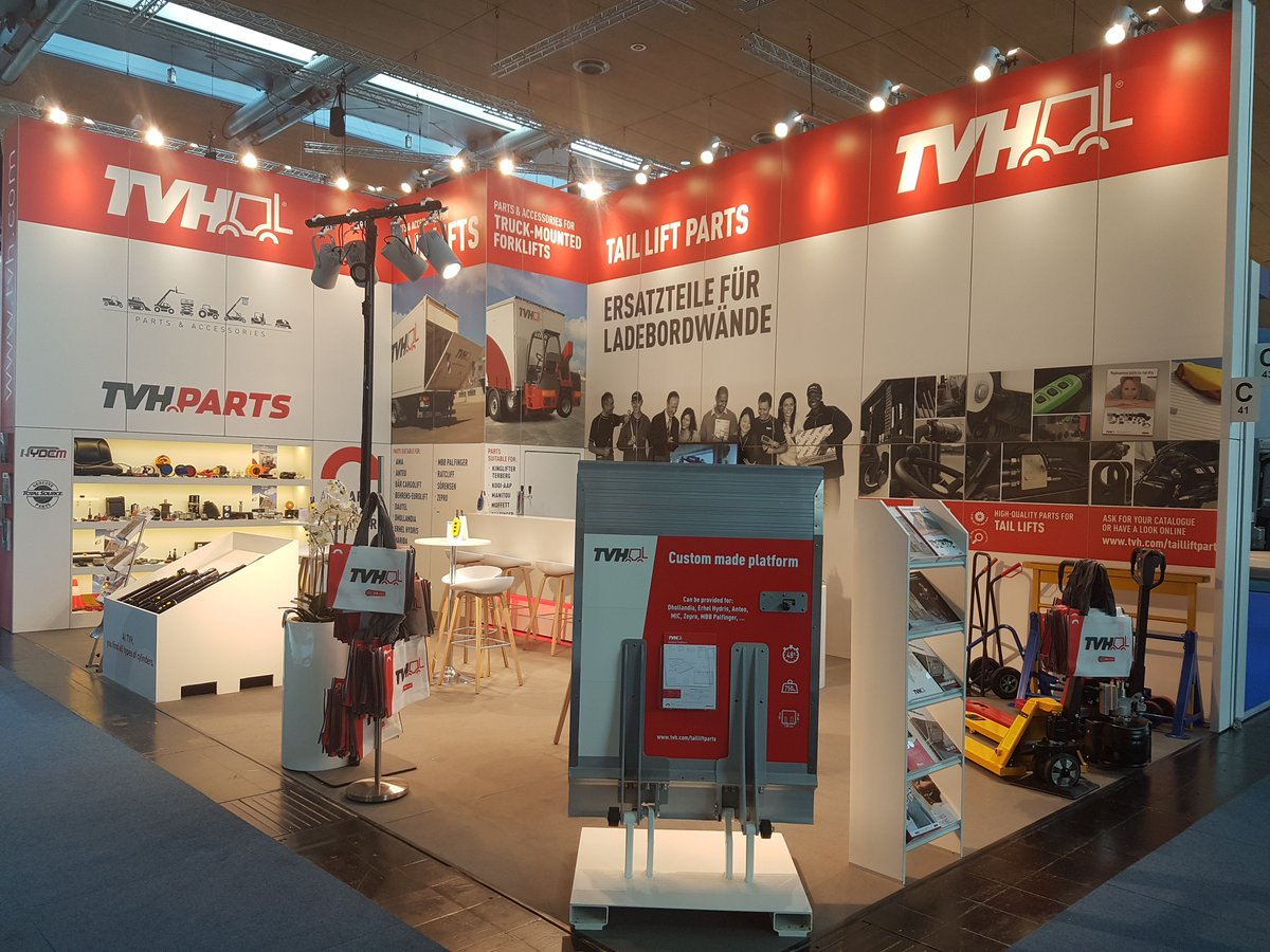 Outlet Hannover tvh on day at iaa in hannover discover our product