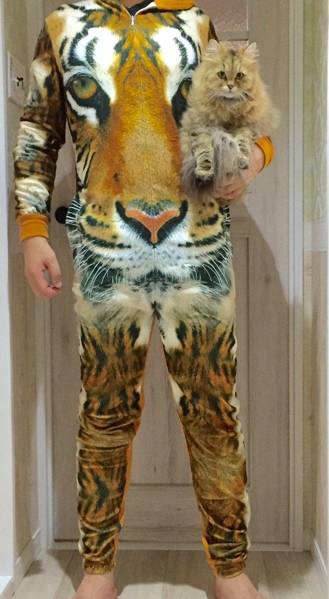 猫好き男子のホームウェア😼  フライングタイガーで¥900