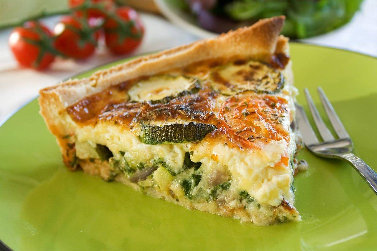 """cuisine et mets on twitter: """"quiche courgettes et chèvre https://t"""