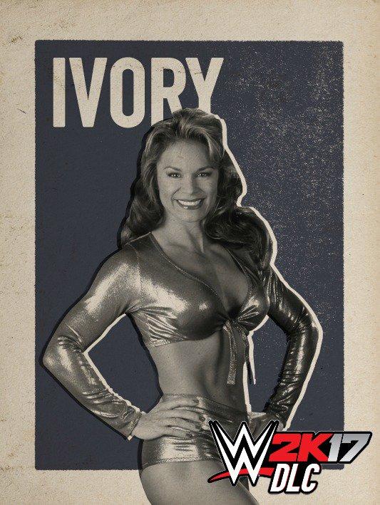 WWE 2K17 DLC Ivory