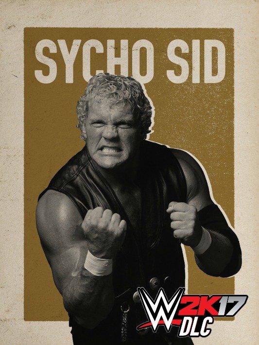WWE 2K17 DLC Sycho Sid