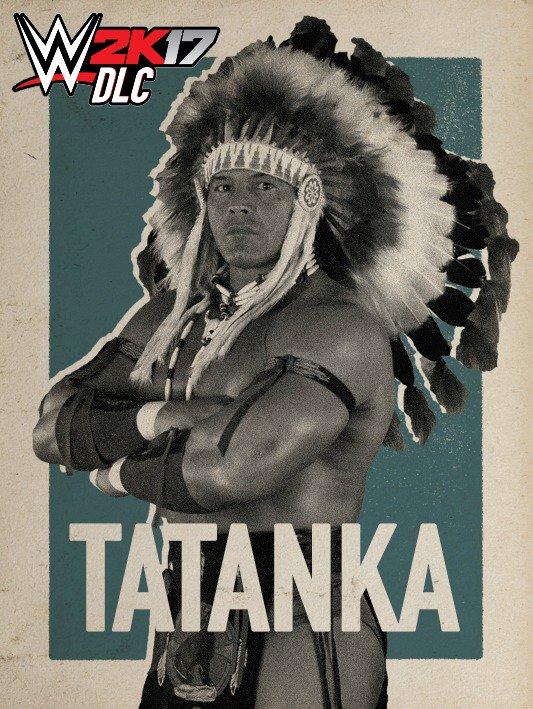 WWE 2K17 DLC Tatanka