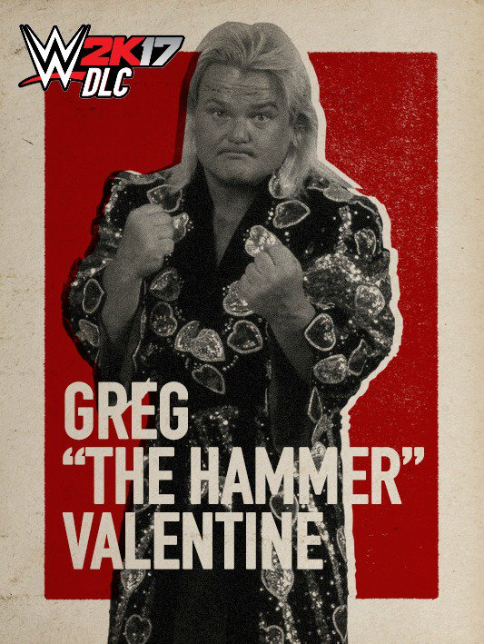 WWE 2K17 DLC Greg Valentine