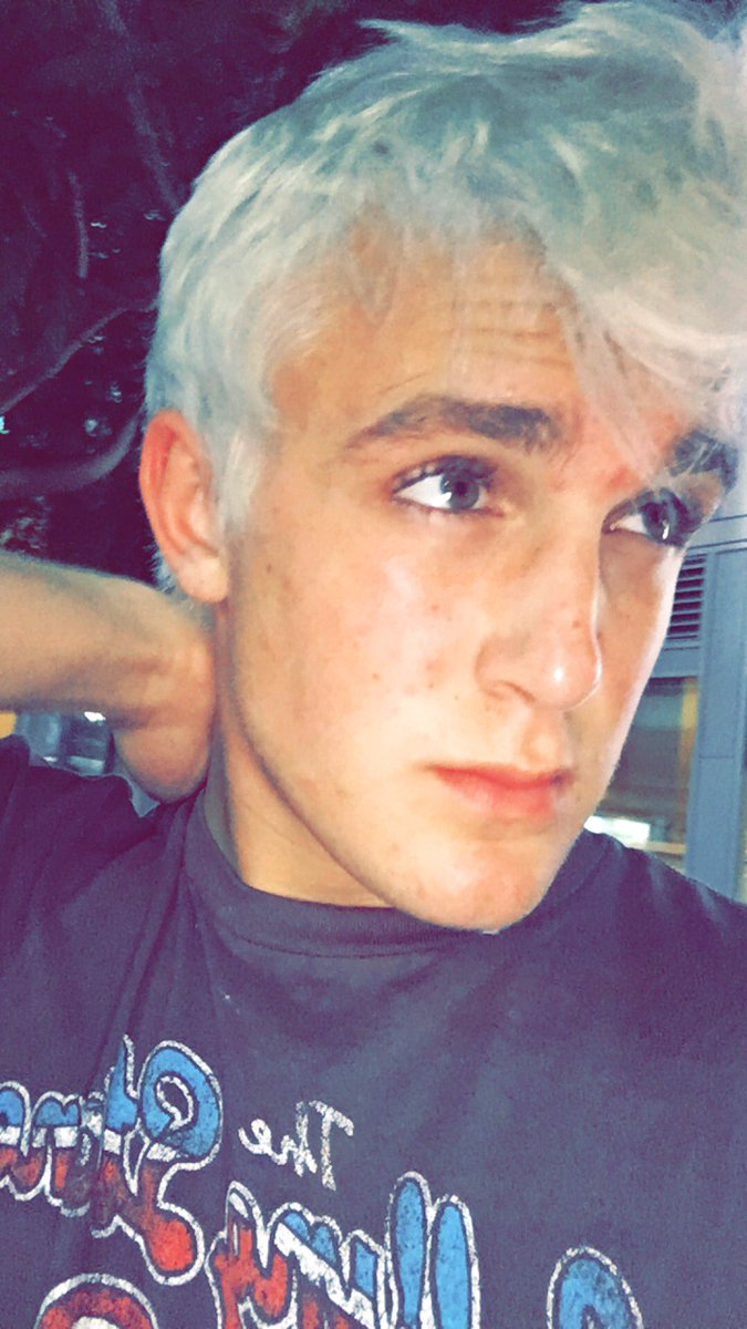 Jake Paul On Twitter So I Dyed My Hair Platinum