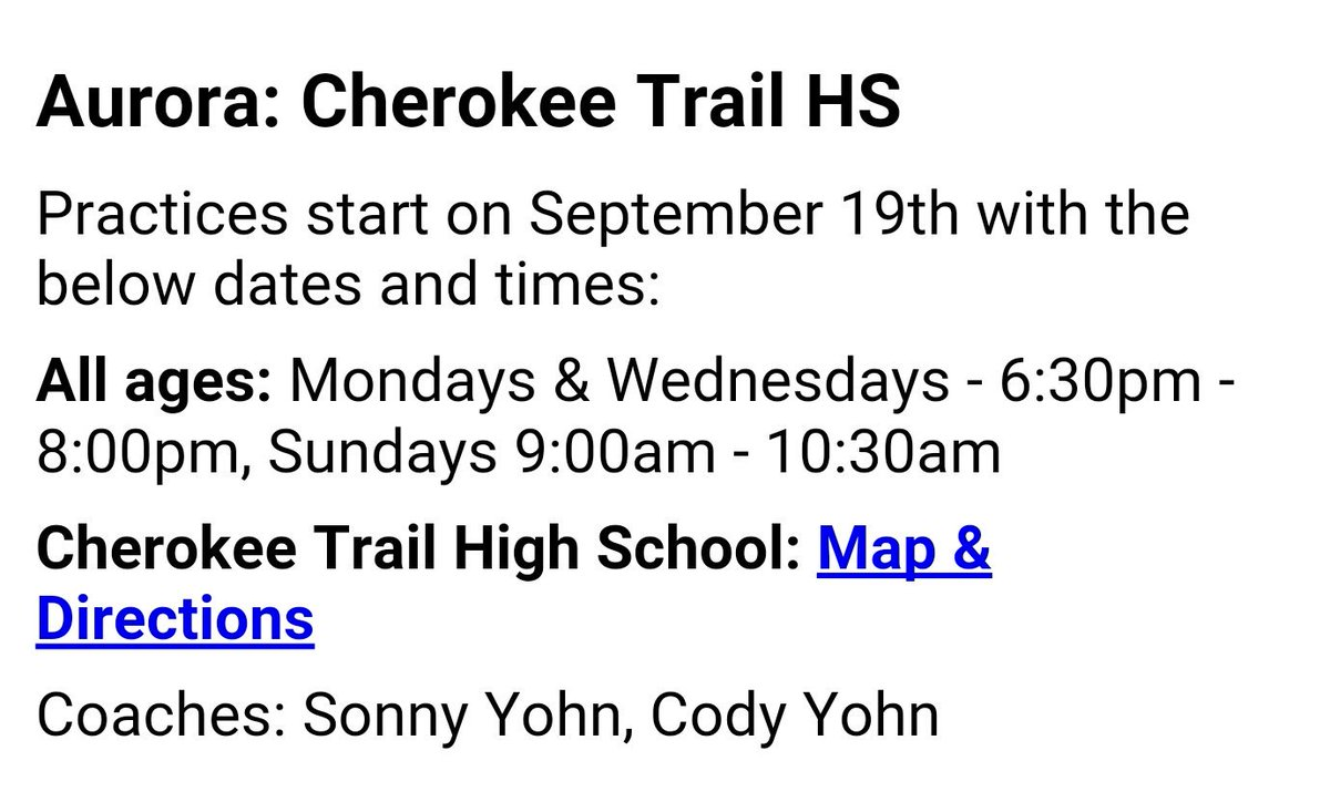 Cherokee Trail Wrestling on Twitter: