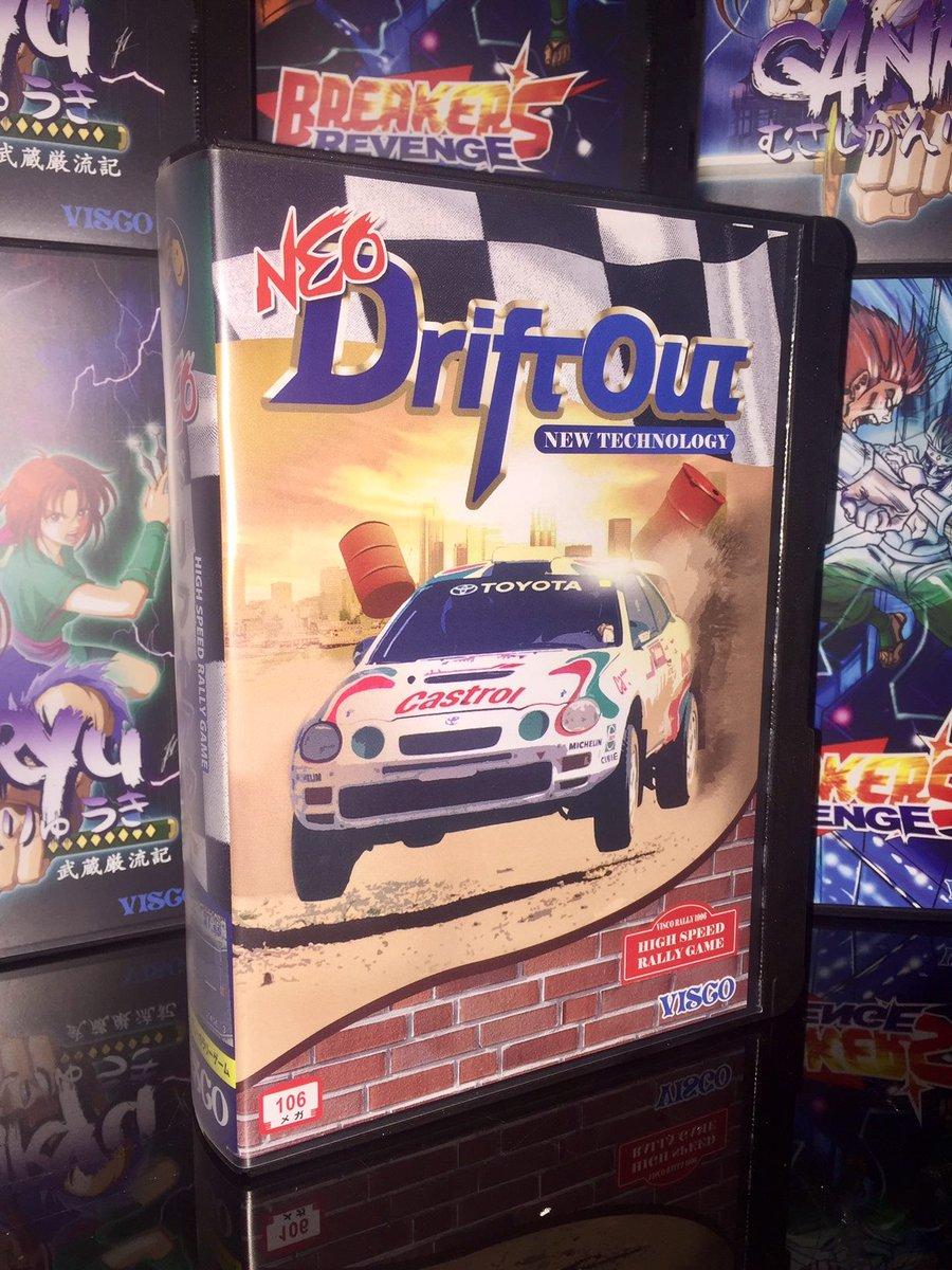 Neo Drift Out AES. Nuevo juego de NCI con licencia Visco Cs95GqOWgAAKBp4