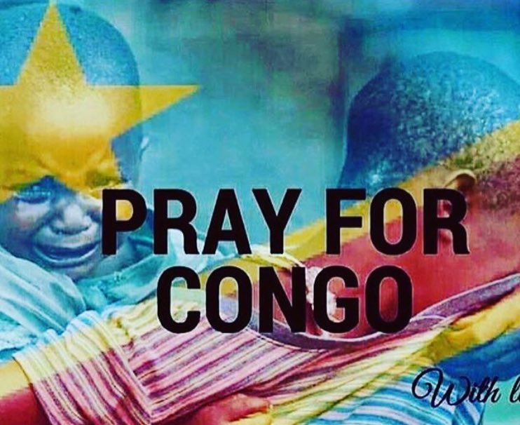 I don't have to be Congolese to pray for Congo.