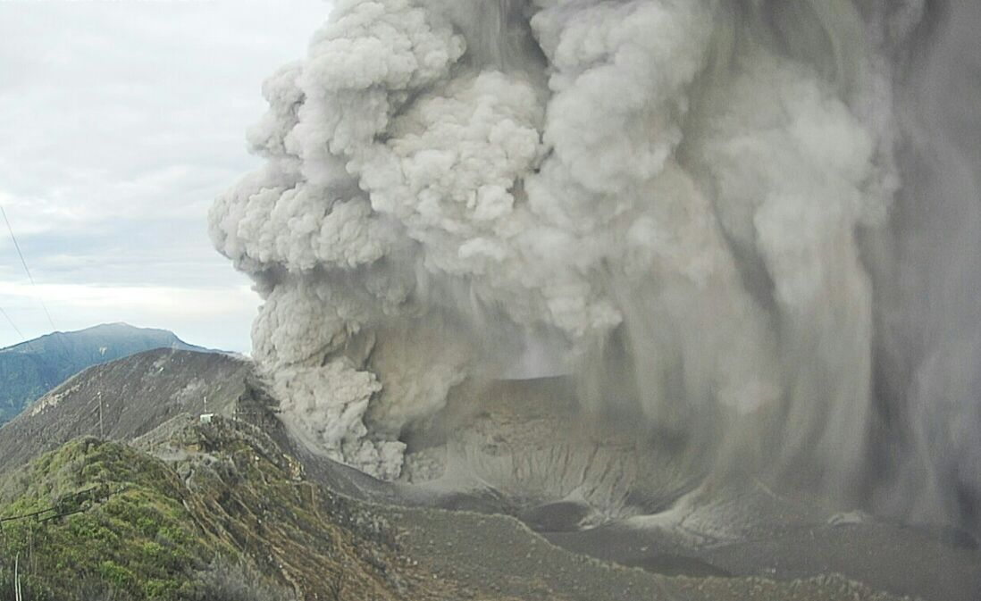 El #VolcánTurrialba en actividad nuevamente #enestemomento #cenizacr #TiempoCR https://t.co/i5mHaWcI7A