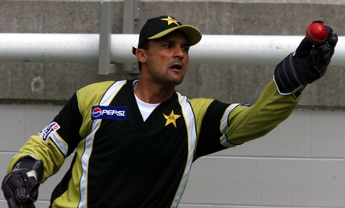 """ICC on Twitter: """"A keeper-batsman who captained Pakistan, he took 128 Test catches, 214 ODI catches and scored over 6,000 runs. Happy Birthday to Moin Khan!… https://t.co/4ia2KwRzfu"""""""