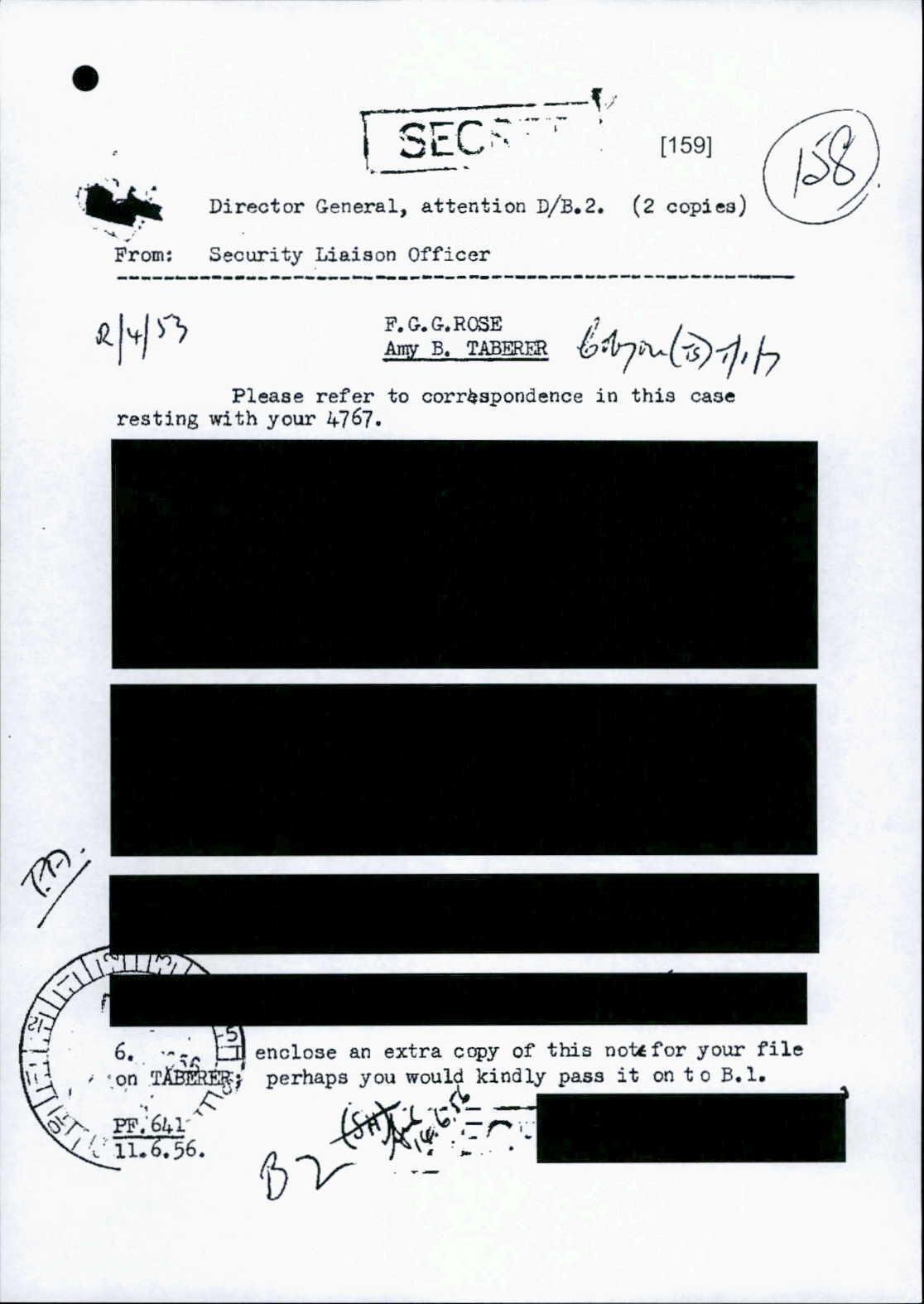 Current frontrunner for the most heavily redacted #ASIO document is… https://t.co/HvnjFdsMJM