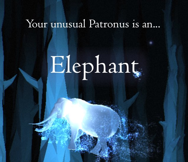 sam maggs on twitter so i got an unusual patronus on the pottermore test but i just don 39 t. Black Bedroom Furniture Sets. Home Design Ideas