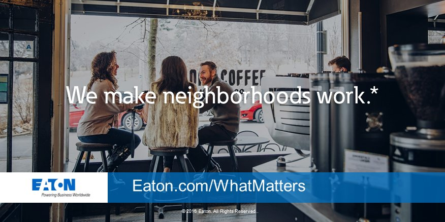 Every morning neighborhoods come alive. It's our job to make sure it all works https://t.co/VEhakwPk4A #whatmatters https://t.co/svJEUhfHuH