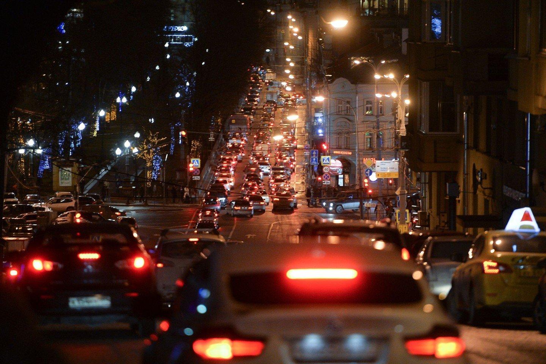 посуточно фото пробки машин с телефона нашей статье