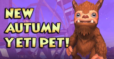 Autumn Yeti Pet