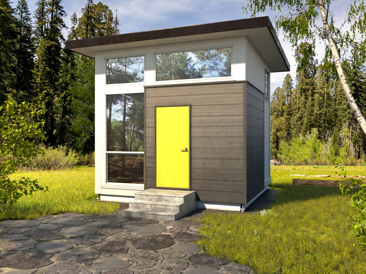 Nomad Homes gallery nomad micro homes Combine The Live Space Modules Of Our Nomad Cube For Additional Tinyhouse Living Space Httpwwwnomadmicrohomescomproducts Pictwittercom