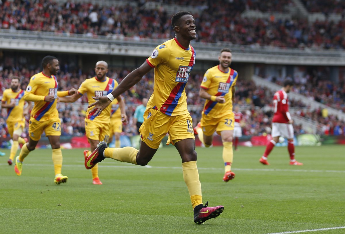 Video: Middlesbrough vs Crystal Palace