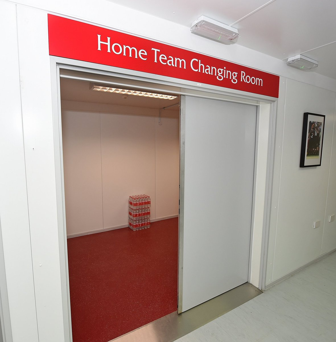 New Anfield Dressing Rooms