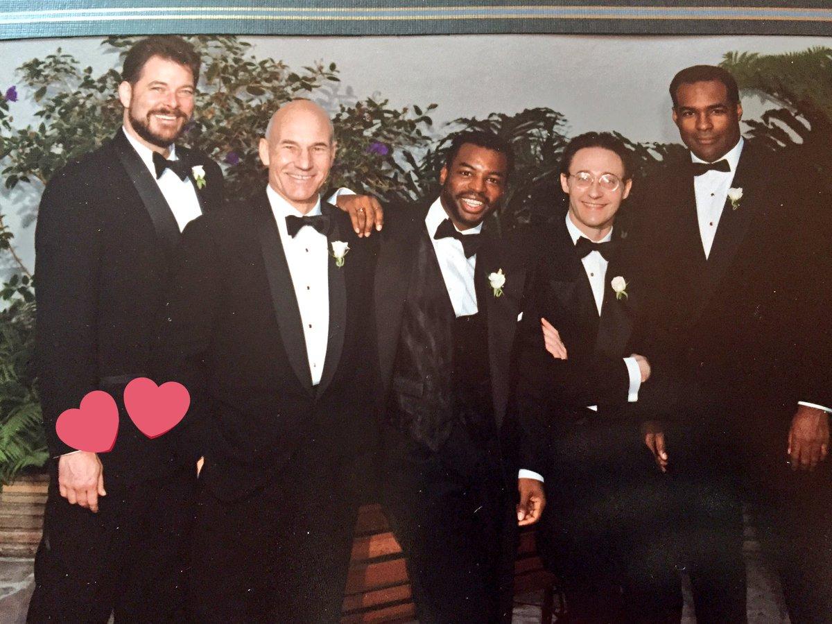 Image result for LeVar Burton Wedding