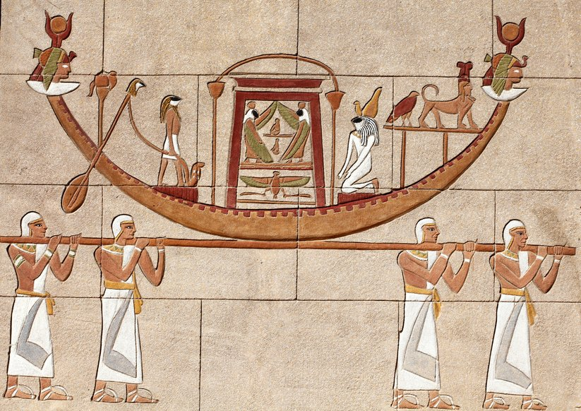 Did you know that the Ancient Egyptians were the first to invent the sailing boats  #thisisegypt https://t.co/YMAK15FpXC