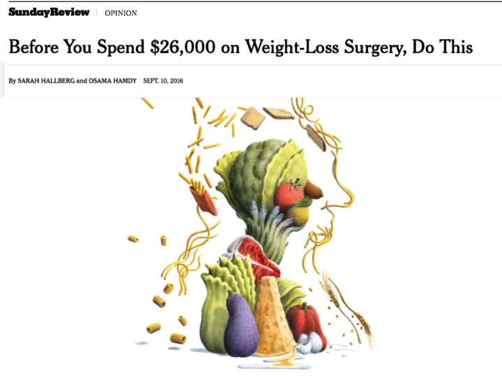 Low carb diet before weight loss surgery