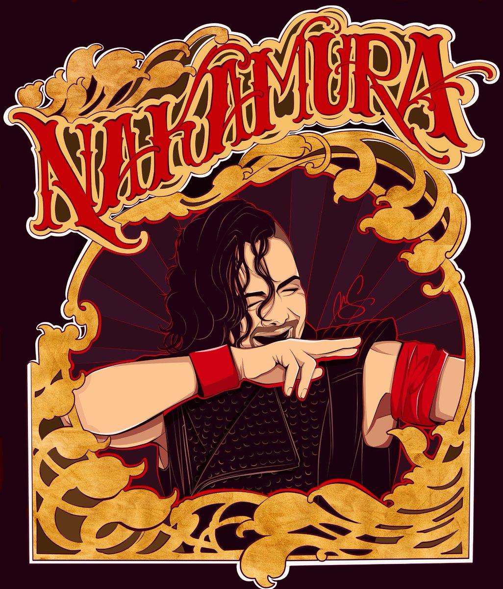 Hail to The King!! A brand new fanart of @ShinsukeN