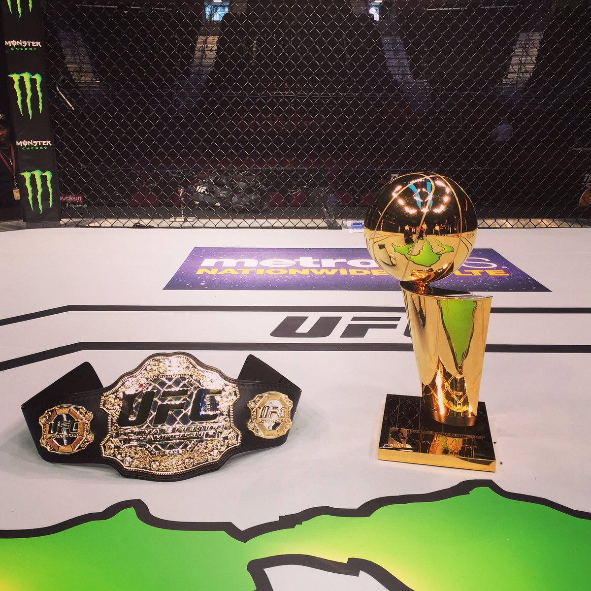 #UFC203 taking place in the City of Champions @ufc https://t.co/O3lAFXCWvE