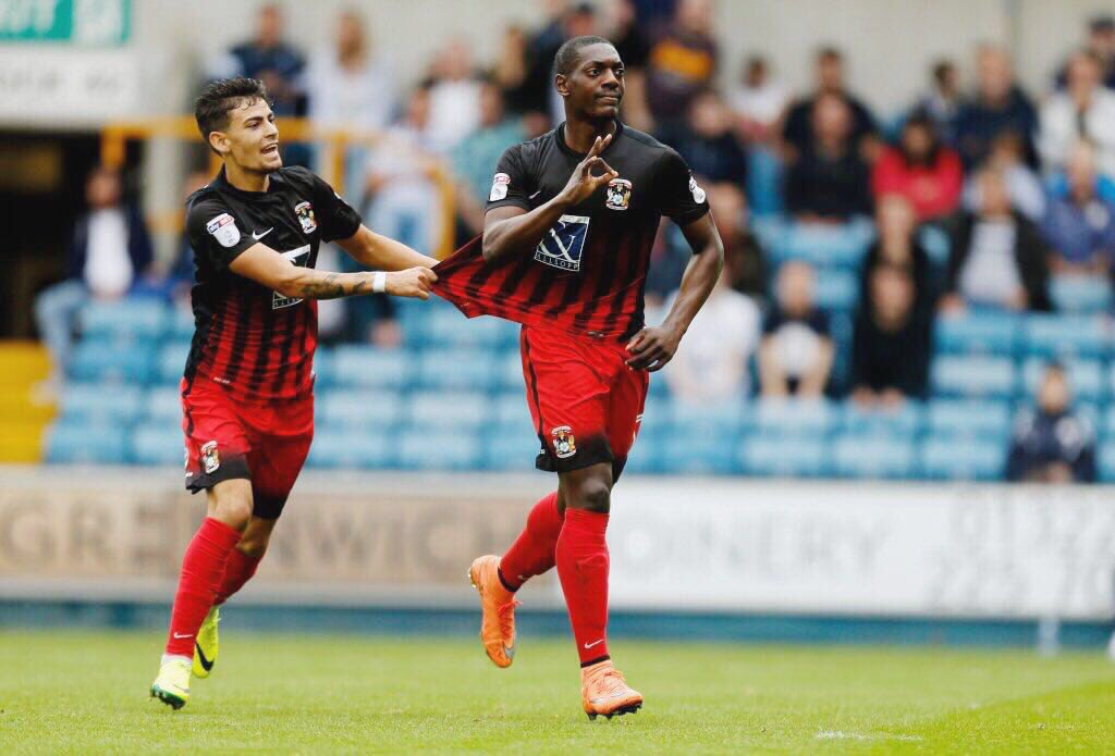 Delighted to score my 1st @Coventry_City goal and to show my support on #WorldSuicidePreventionDay #ItsOkayToTalk