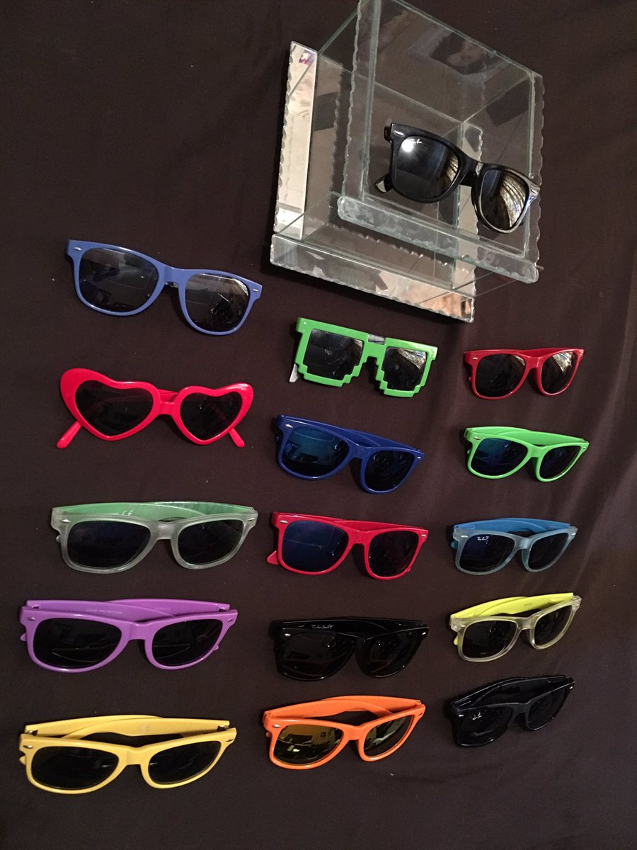 Since the ray-bans you gave me i've expanded my collection! @katyperry ofc yours are on top