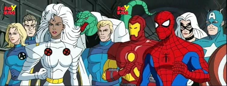 Image result for marvel cartoons