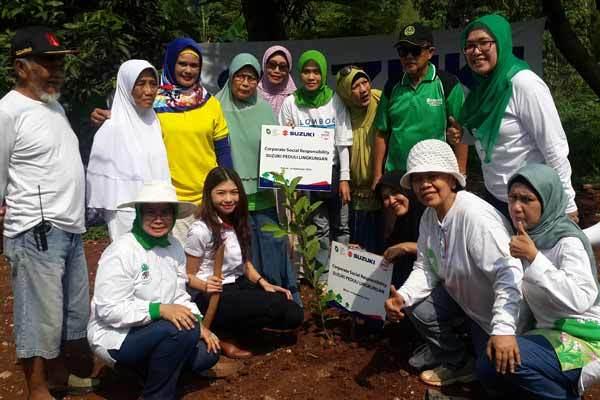 CSR Suzuki Peduli Lingkungan Tanam 851 Pohon | swagbanget suzuki