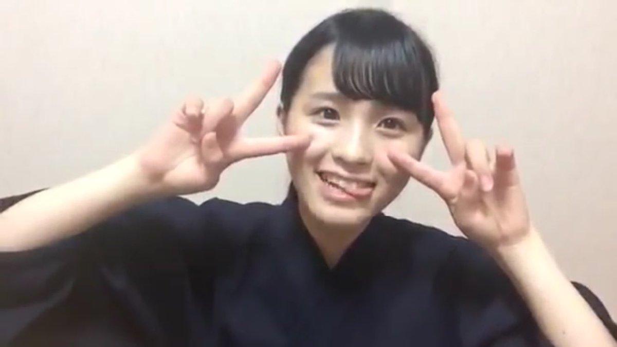 キュートな表情の大園桃子