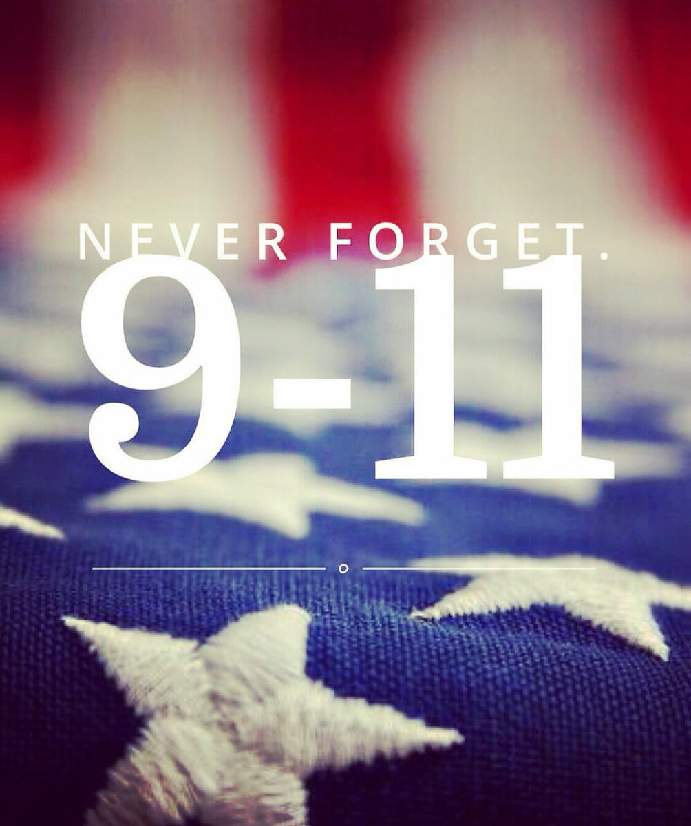 15 years ago today thousands of innocent American lives were taken by radical Islamic terrorists. #NeverForget 🇺🇸