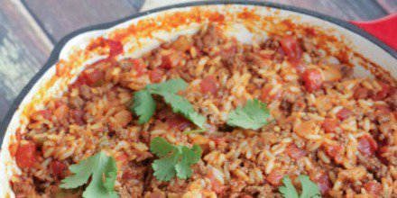 30 minutes is all it takes for a tasty Spanish Rice and Beef Skillet Dinner. #SundaySupper  https://t.co/rxOfuRhjEj https://t.co/qVfyrqF3V9