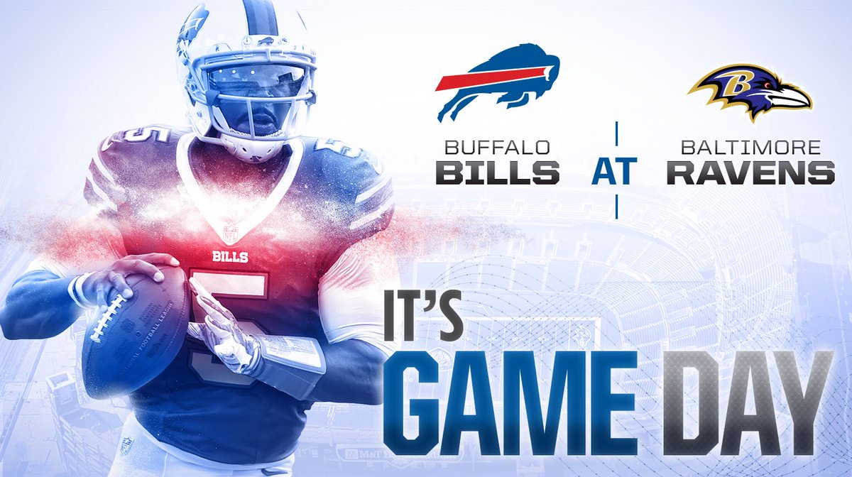 Buffalo Bills On Twitter The Wait Is Over It S Finally Game Day Bufvsbal Gobills