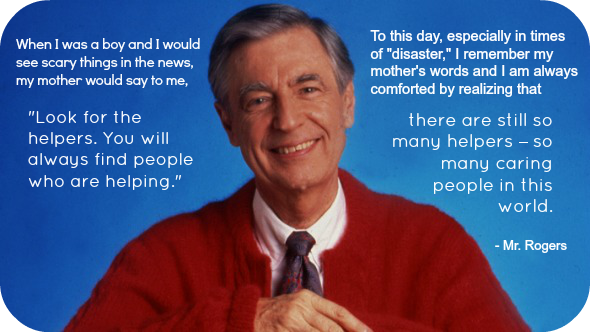 The Swain School On Twitter Let S Always Look For The Helpers And Be Grateful For Them Thanks Mr Rogers Weremember