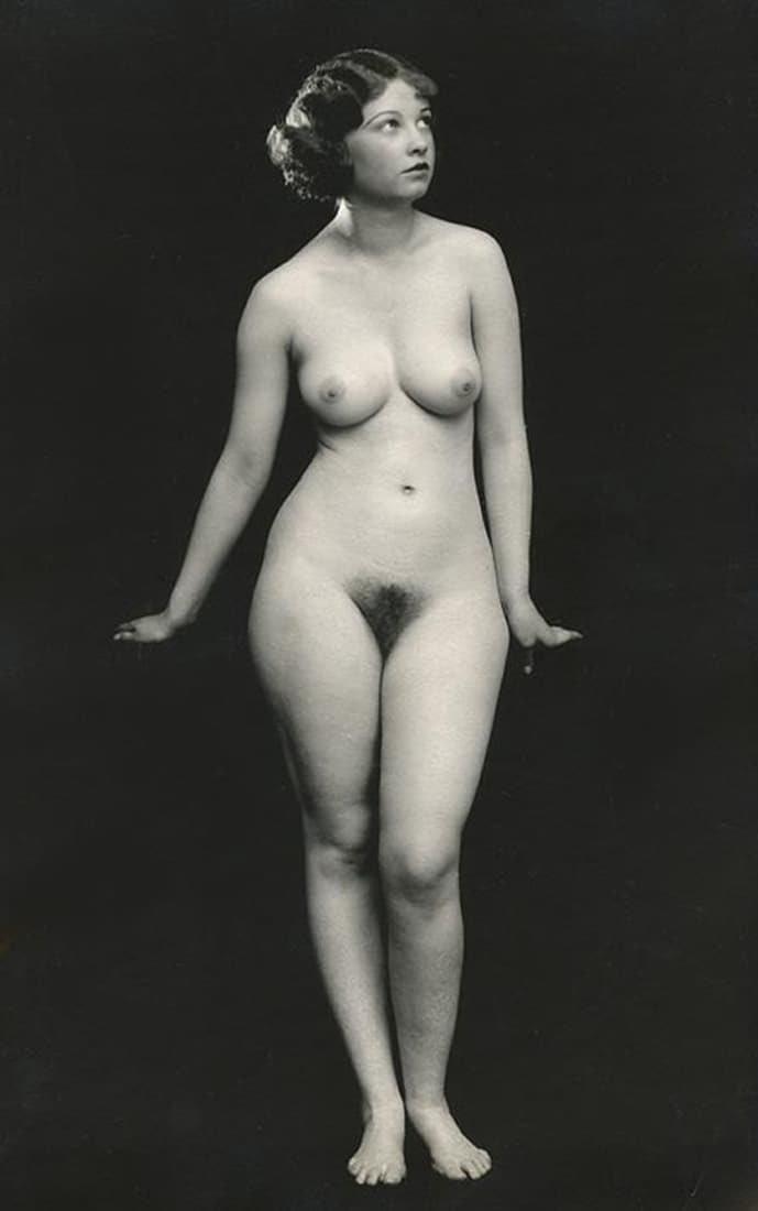 голые девчонки фото ретро - 3