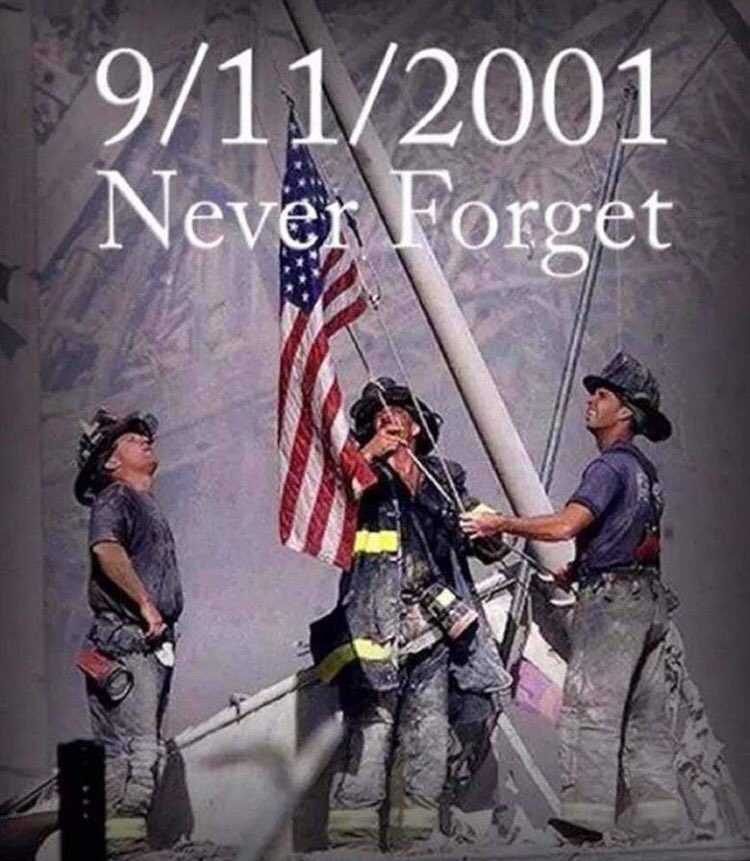 #NeverForget Those that run in as all run out, those that look & face evil in the eye daily for us. Thank YOU!
