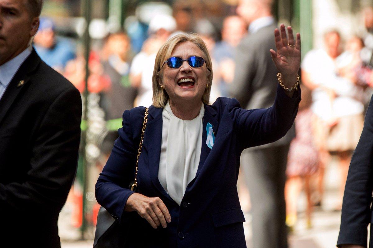 Hillary Clinton con la polmonite a rischio canditatura