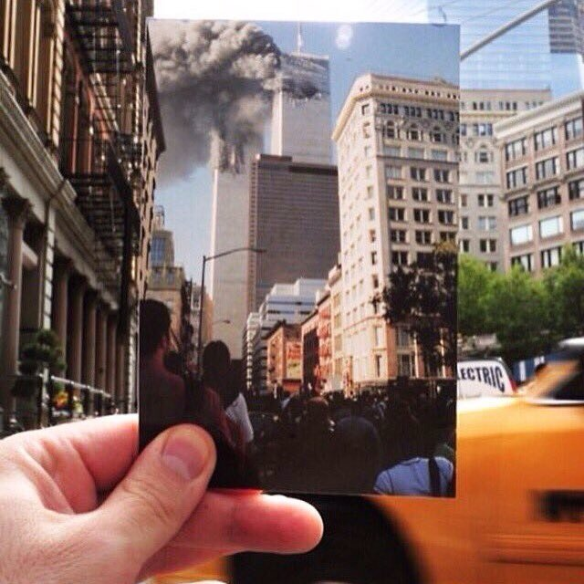 An image that we will never forget. 9/11/01