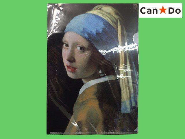 test ツイッターメディア - ■キャンドゥ/世界名画ファイル『フェルメール』 https://t.co/rLvR5NbEDF A4サイズのクリアファイル名画シリーズ。厚さは若干ちがうものの展覧会で買えば700円くらいはする #キャンドゥ #フェルメール https://t.co/J6eUNT7jLR