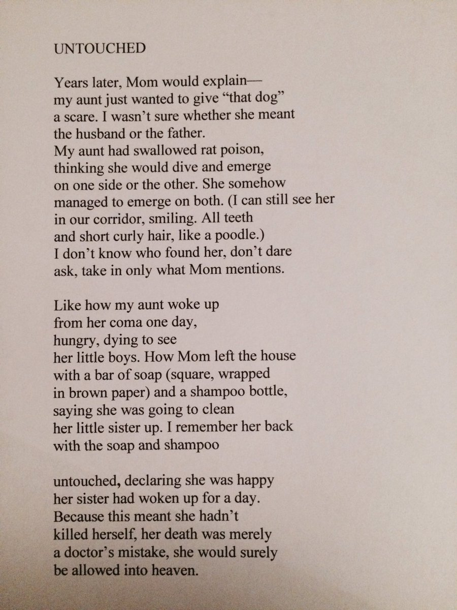 Zeina Hashem Beck On Twitter Worldsuicidepreventionday Was Yesterday Poem 4 My Aunt May She Rest In Peace Love Light To Those Struggling