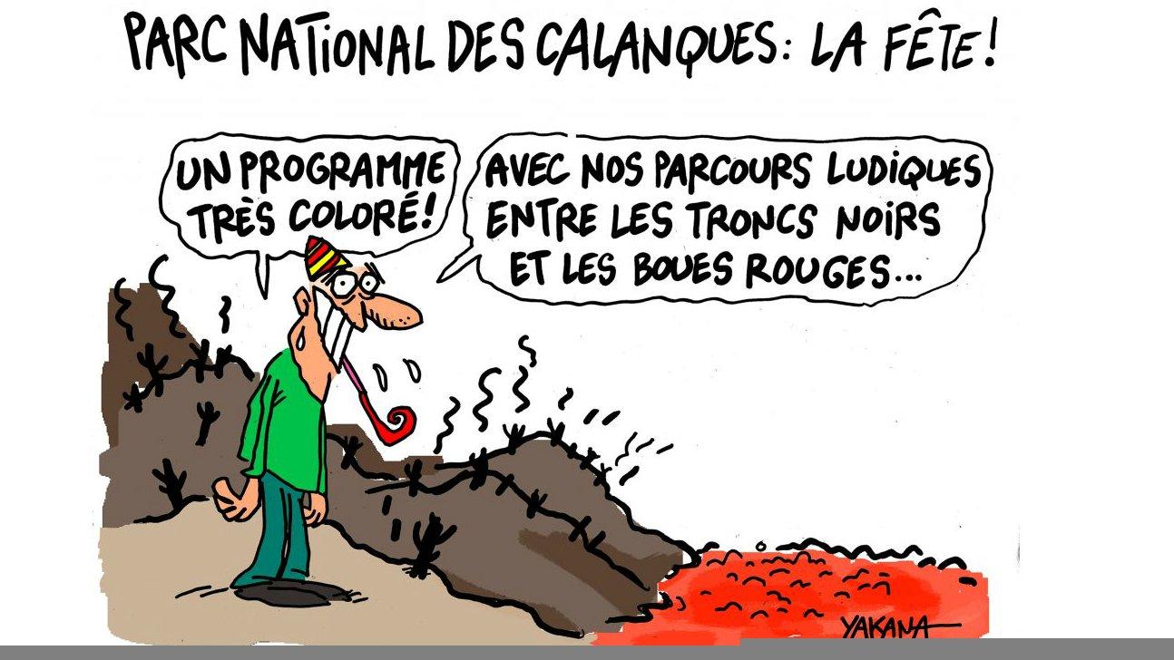 Les calancoeurs les sp cialistes des calanques de marseille dessin satit - Le journal de marseille ...