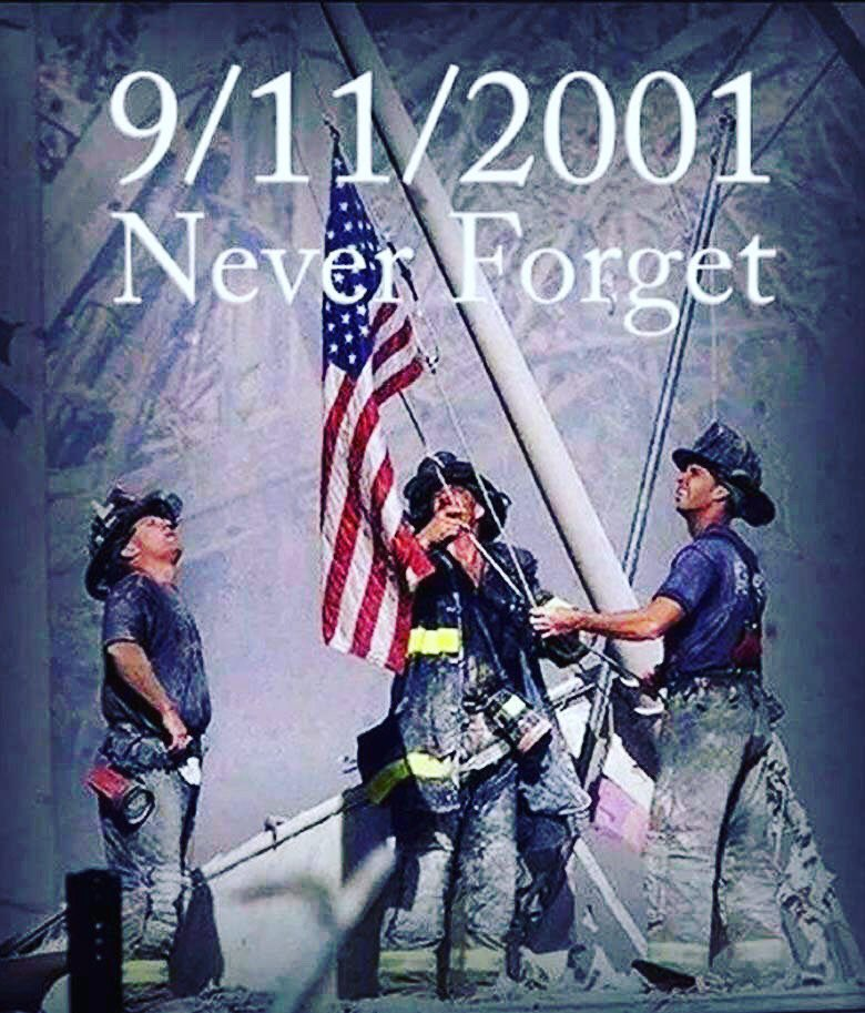 Please take time today to remember those lost on Sept 11, 2001. I'm proud of our country and I will never forget! https://t.co/oAtXjFQxQc
